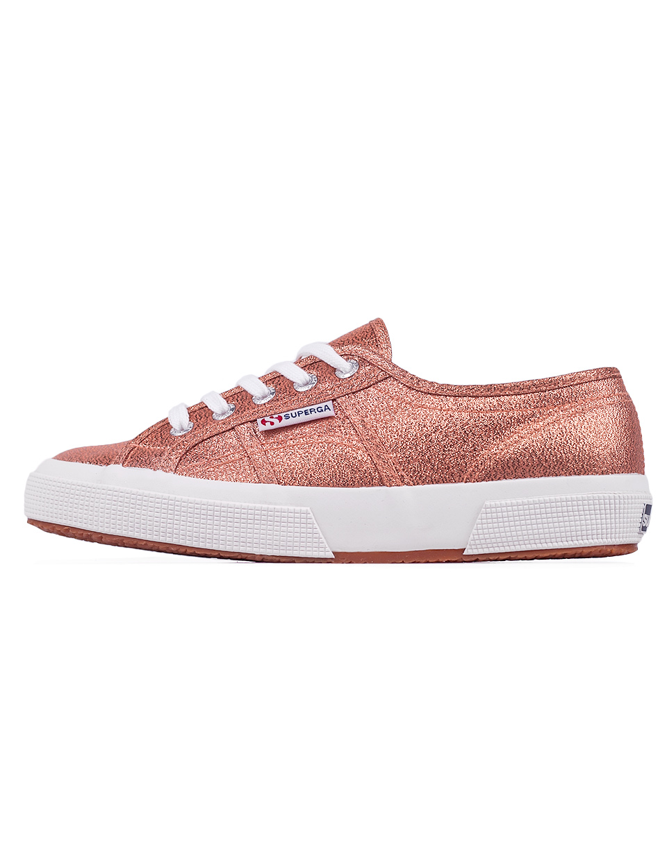 Superga 2750 Lame 916 Rose Gold 37