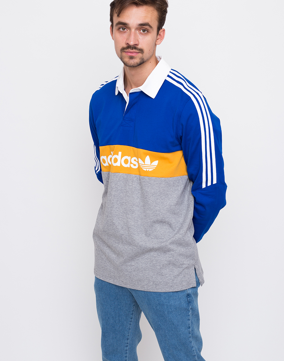 Adidas Originals Heritage Color Collegiate Royal   Core Heather   Tactile Yellow S