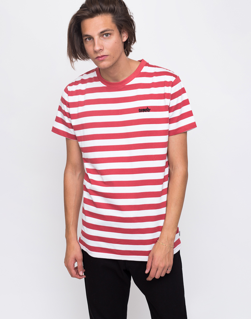 Wemoto Script Faded Red White L