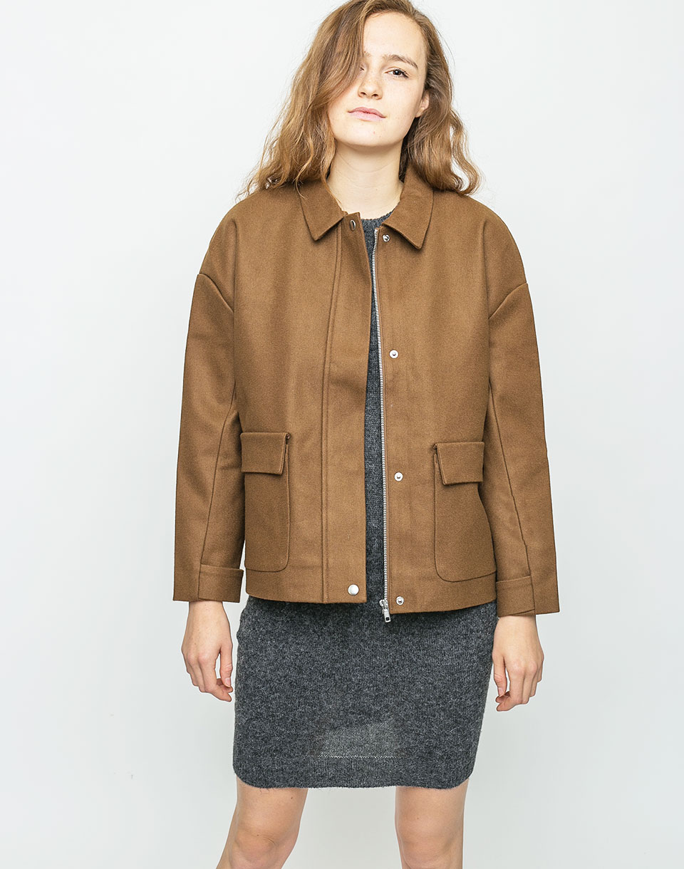 Selfhood Jacket Heavy Khaki M
