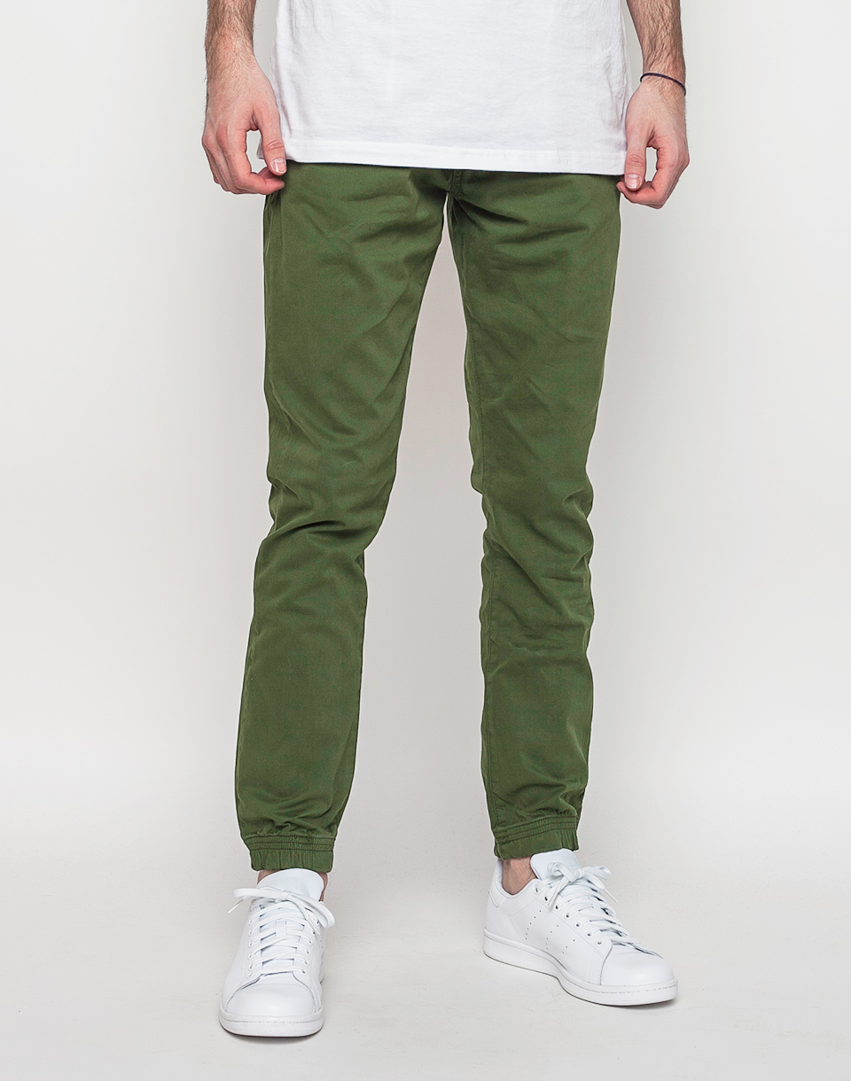 Kalhoty Makia Nautical Green 30