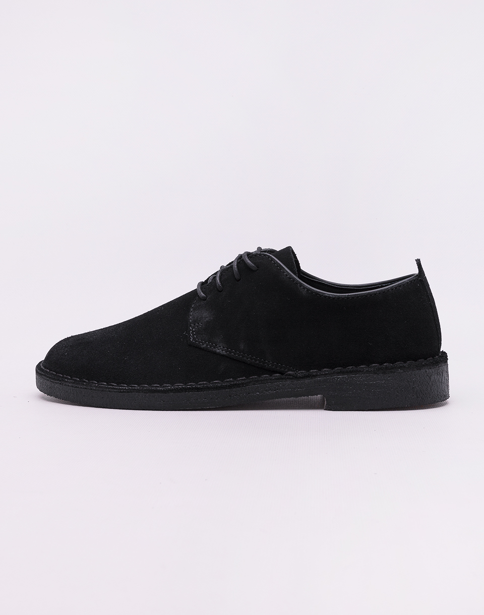 Clarks Originals Desert London Black Suede 46