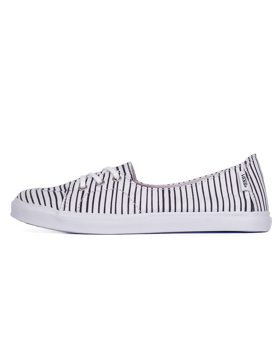 Balerínka Vans PALISADES SF (Just Stripes) true white/black 39