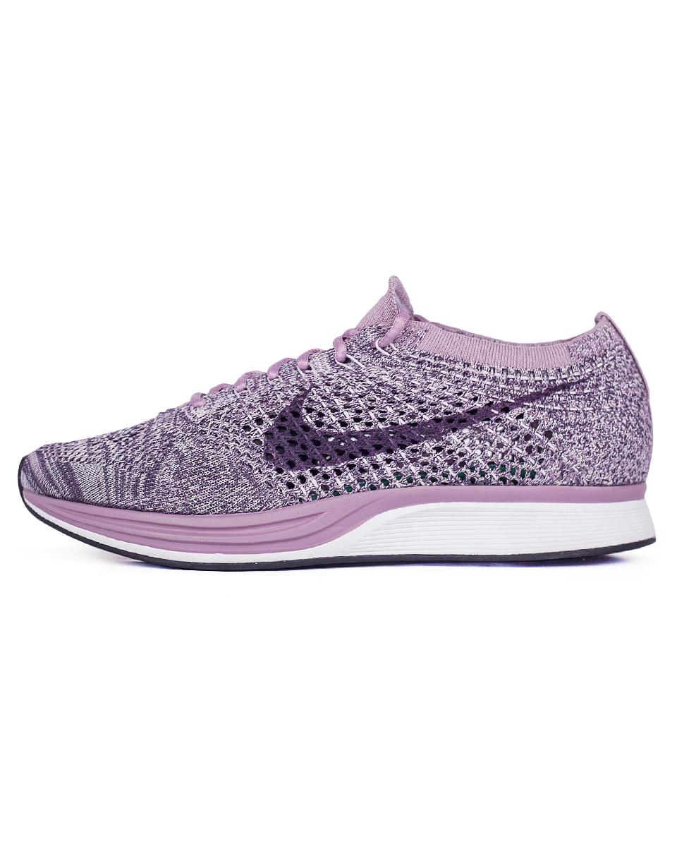 Sneakers - tenisky Nike Flyknit Racer Light Violet / Dark Raisin 37,5 + doprava zdarma