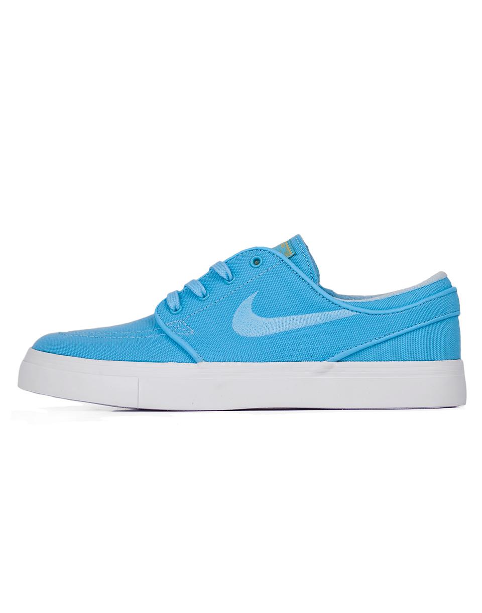 Sneakers - tenisky Nike SB Zoom Stefan Janoski Canvas CPSL Vivid Sky / Vivid Sky - Gold Dart 38