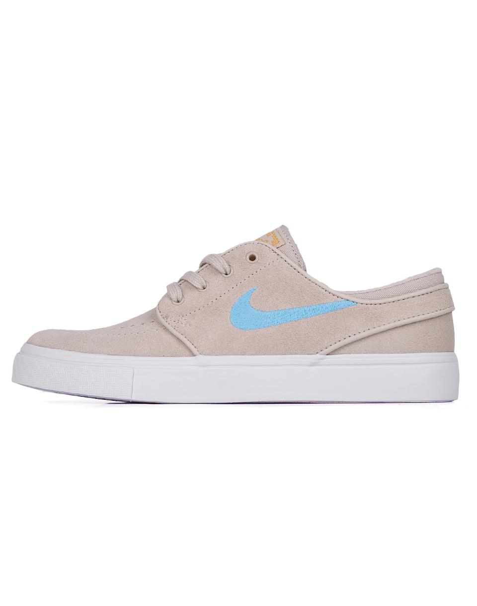 Sneakers - tenisky Nike SB Zoom Stefan Janoski CPSL Oatmeal / Vivid Sky - Gold Dart 37,5