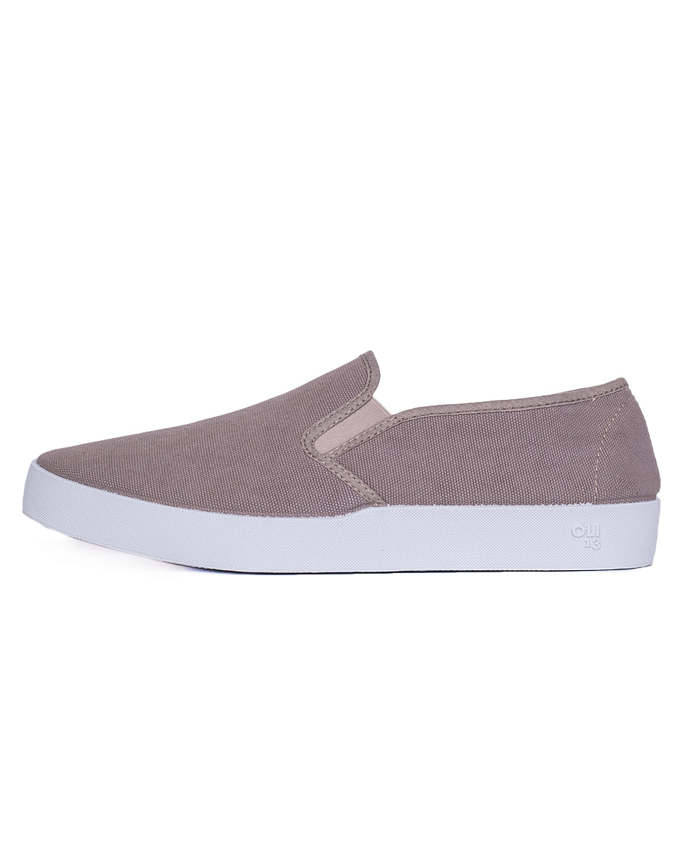 Oli13 Slip On Slip on Stone White canvas 44