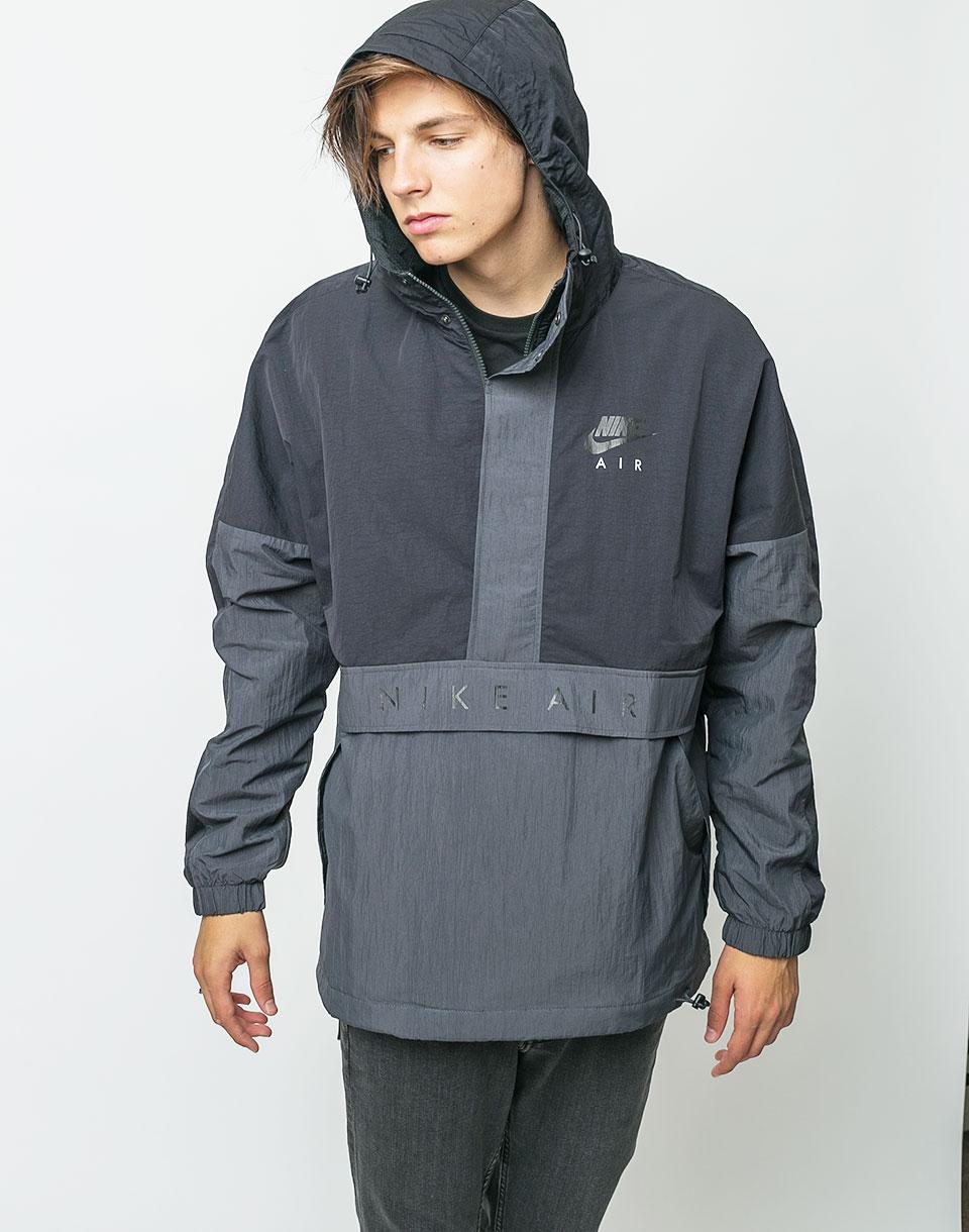 Bunda Nike Hooded Air Jacket Black/Anthracite/Black m + doprava zdarma