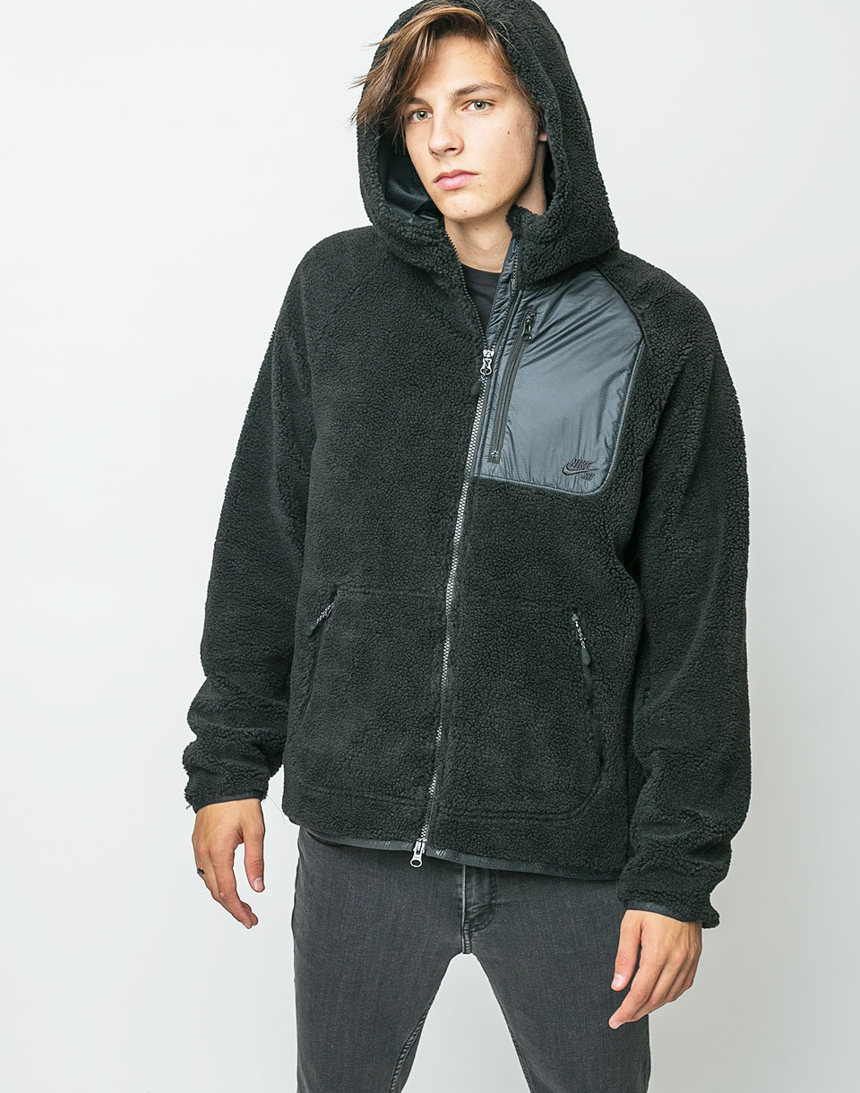 Mikina Nike SB Everett Black/Black/Black L + doprava zdarma