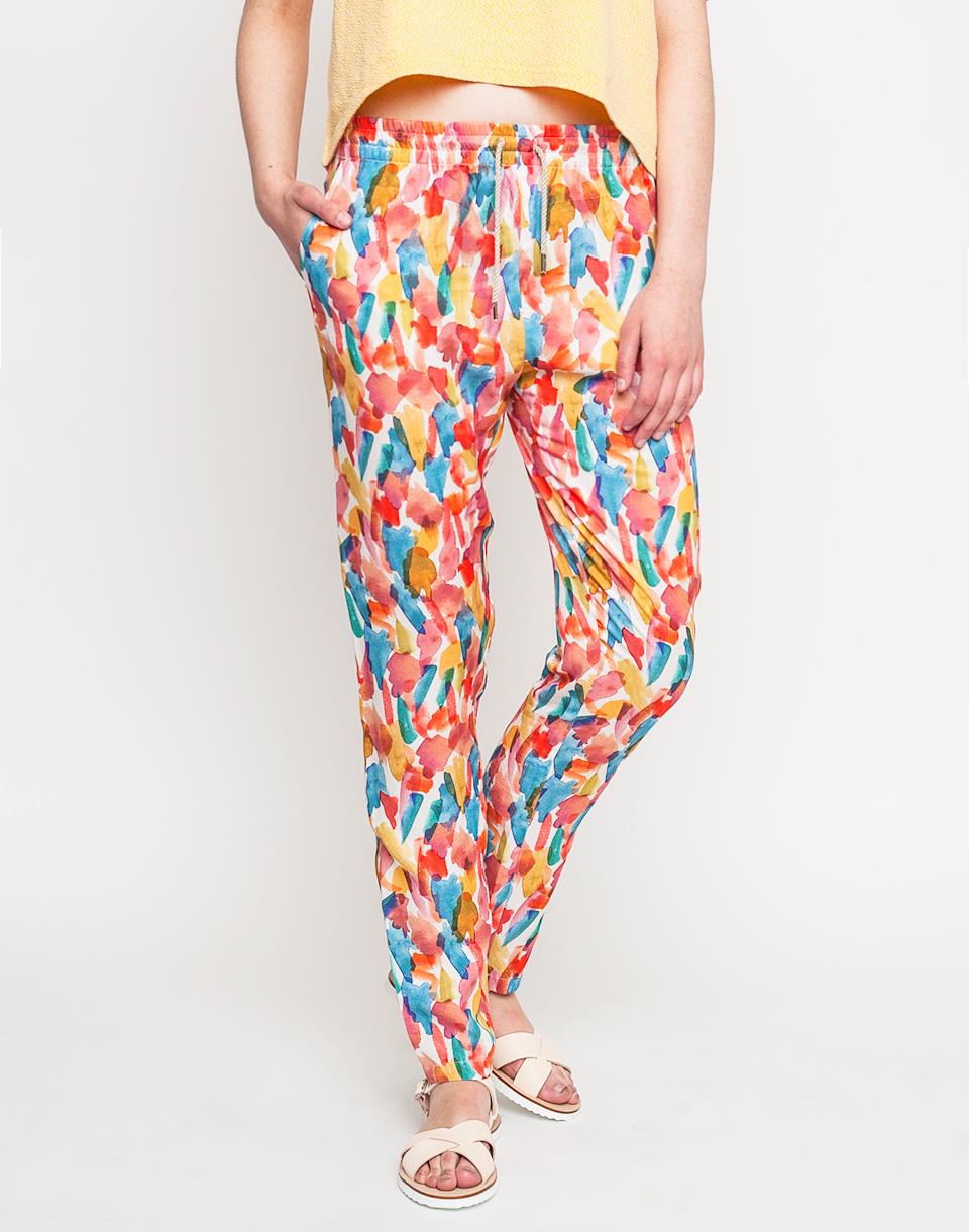 Kalhoty Loreak OPOR BROCHA multicolored 36