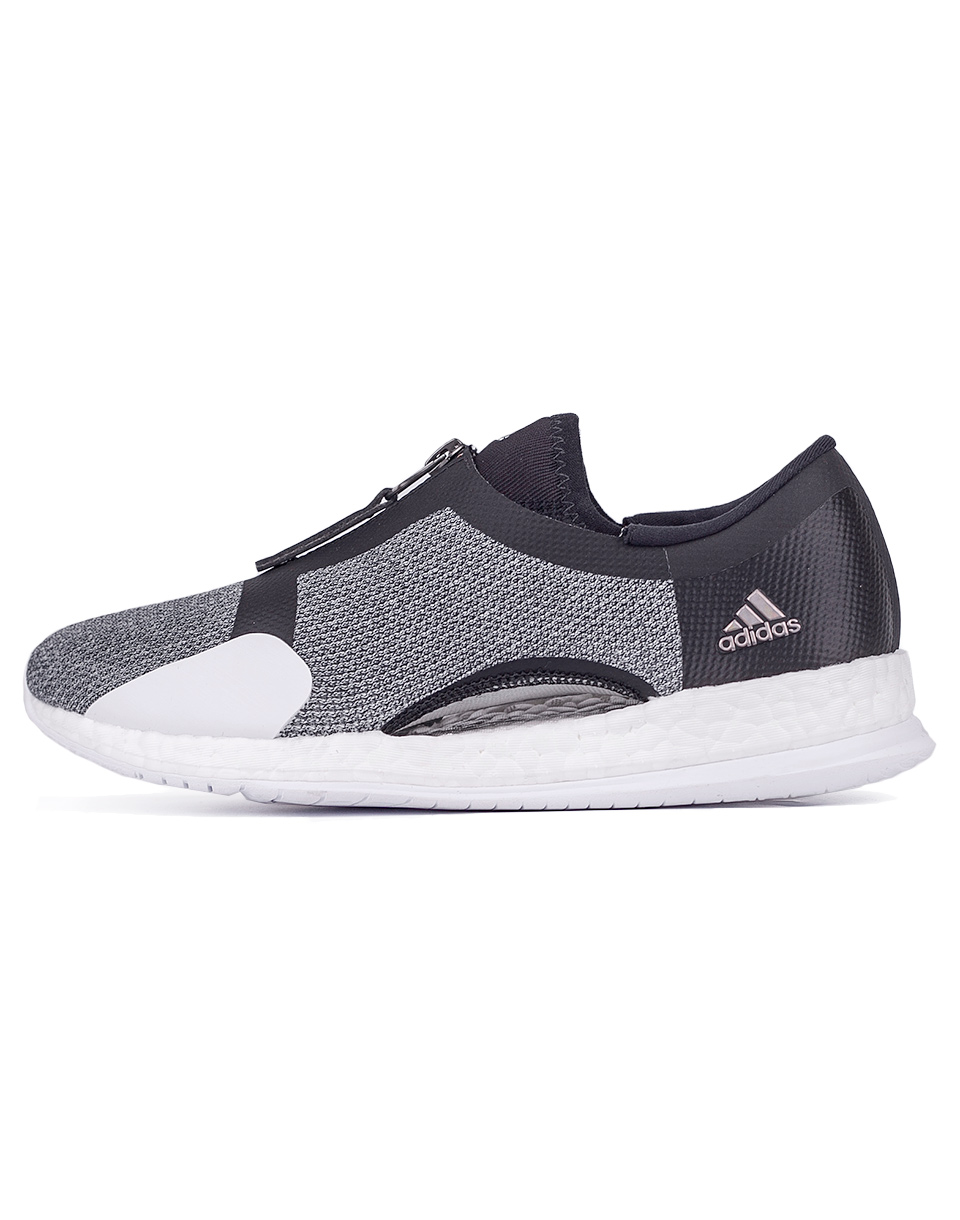 Adidas Performance Pure Boost x Trainer Zip Core Black   Silver Metalic   Footwear White 36 5