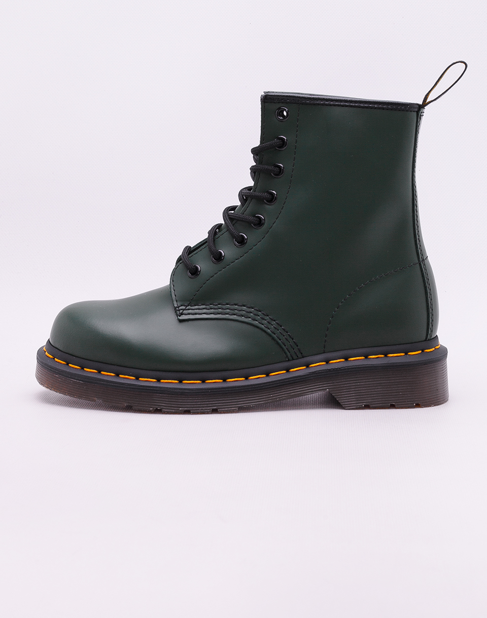 Dr  Martens 1460 Green Smooth 43