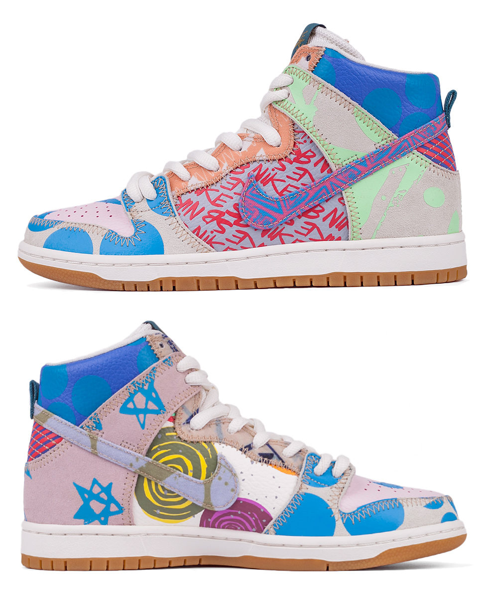 Sneakers - tenisky Nike SB Zoom Dunk High Premium Iced Jade / Circuit Orange - Sail 41 + doprava zdarma