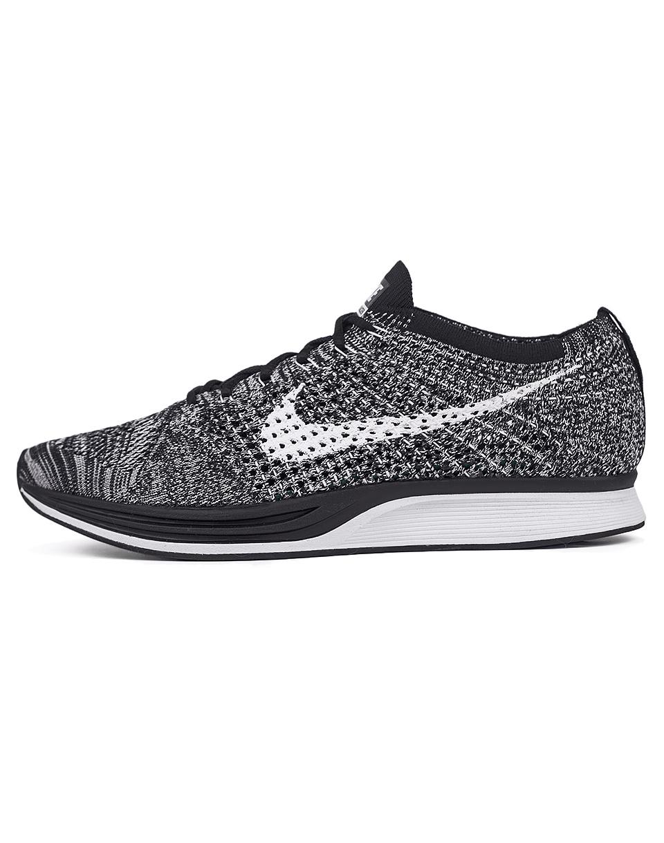 Sneakers - tenisky Nike Flyknit Racer Black / White 44 + doprava zdarma
