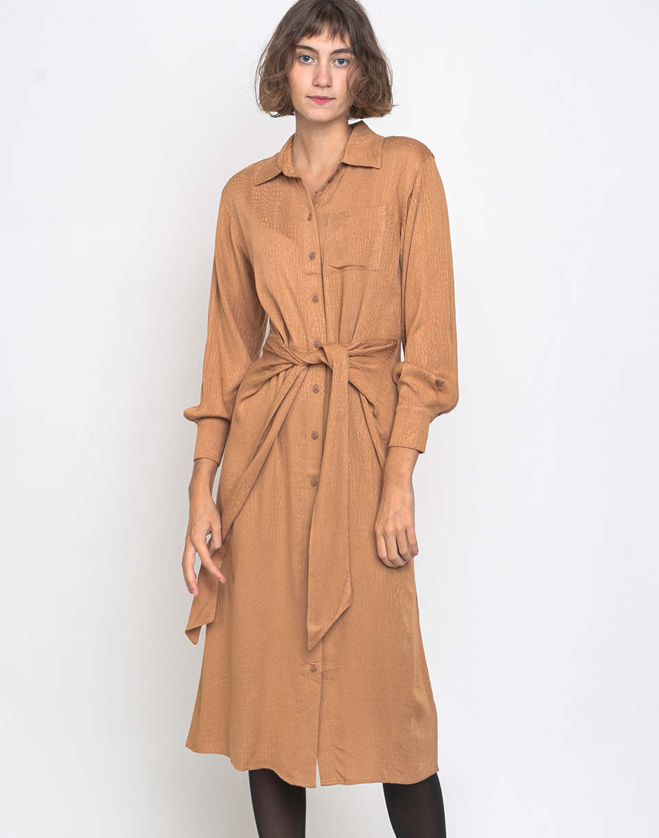 Edited Mana Dress Camel 34