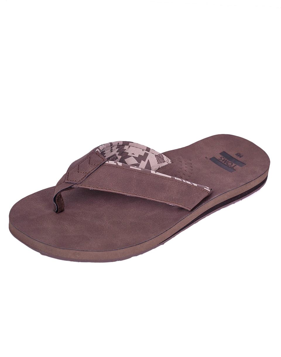 Žabky Toms Carilo Flip Flop Brown 46