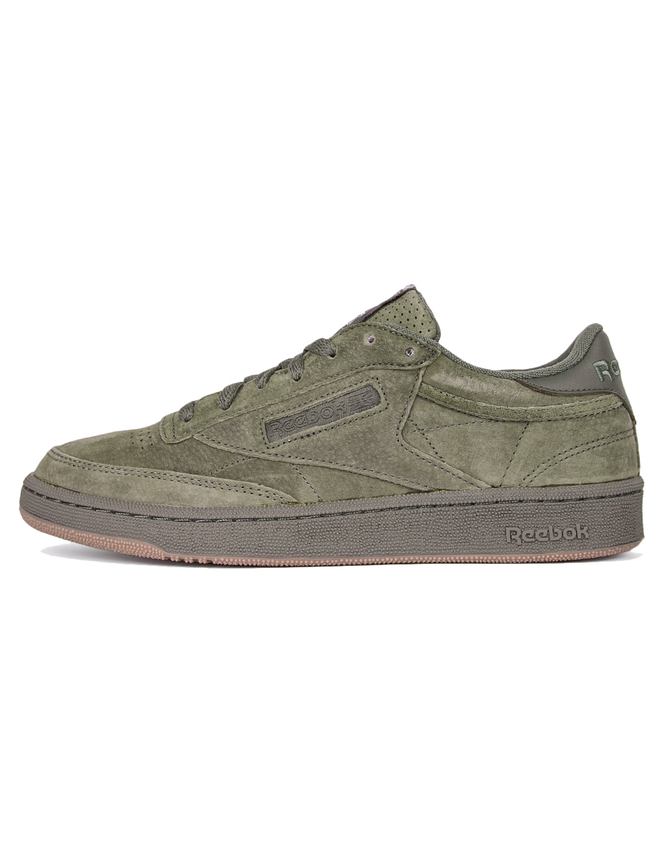 Reebok Club C 85 SG Hunter Green   White   Gum 41