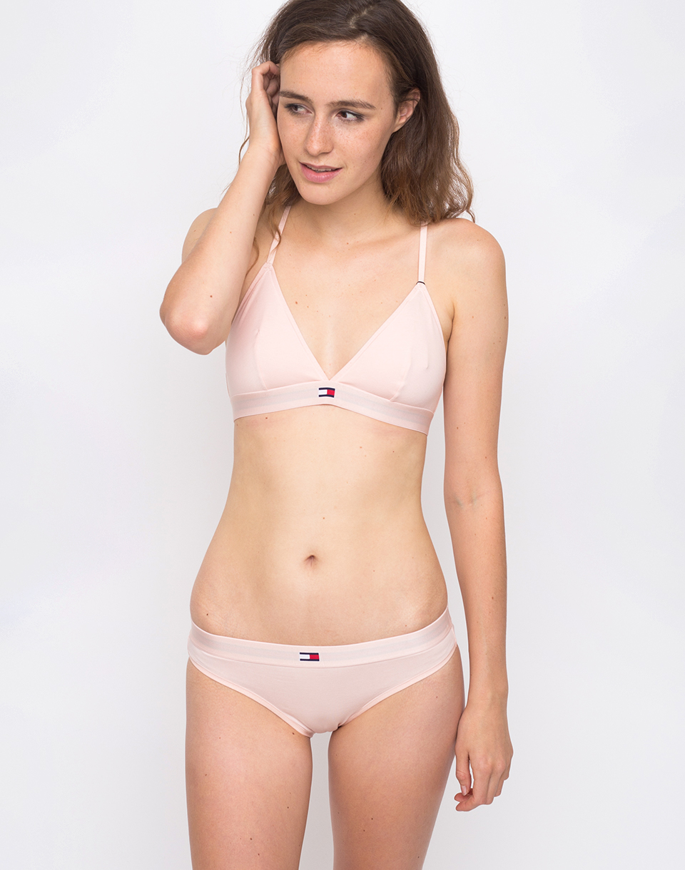 Tommy Hilfiger Triangle Bra Pale Blush L