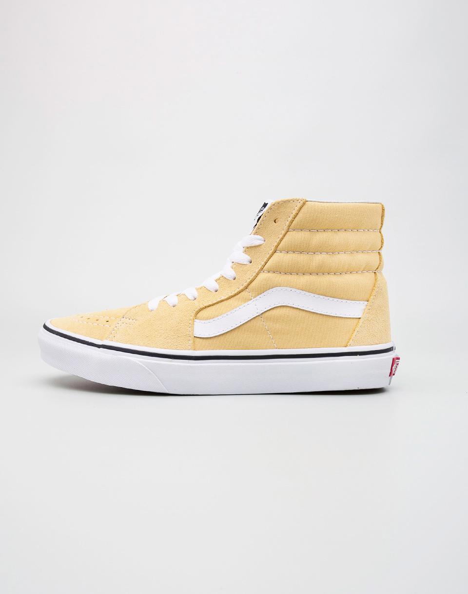 Sneakers - tenisky Vans SK8-Hi Dusky Citron / True White 39
