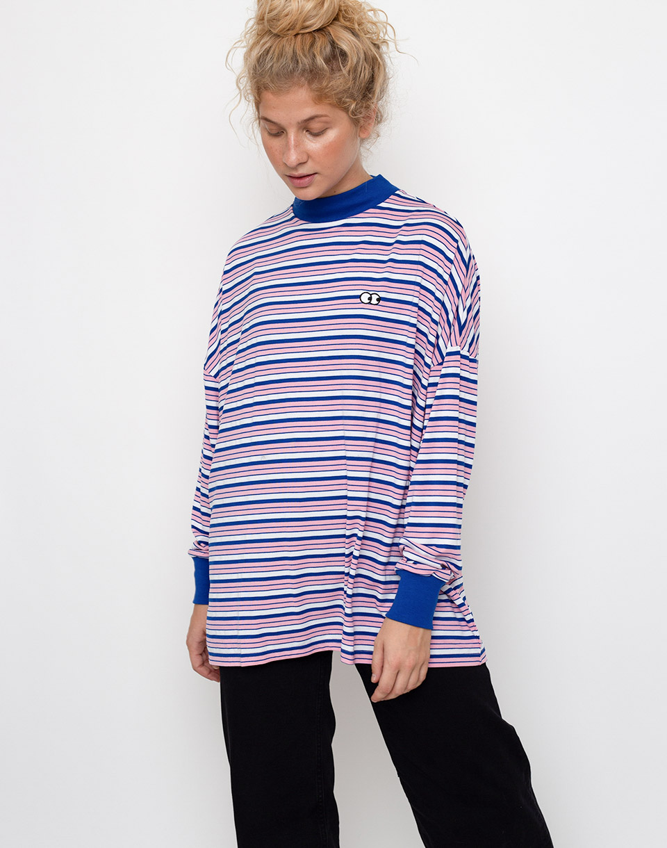 Lazy Oaf Stripy Eyes Multi M L