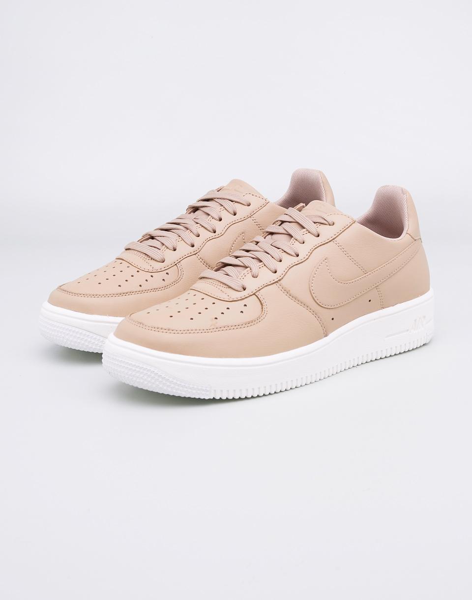 Sneakers - tenisky Nike Air Force 1 Ultraforce Leather Mushroom/Mushroom-Black-Summit-White 44 + doprava zdarma