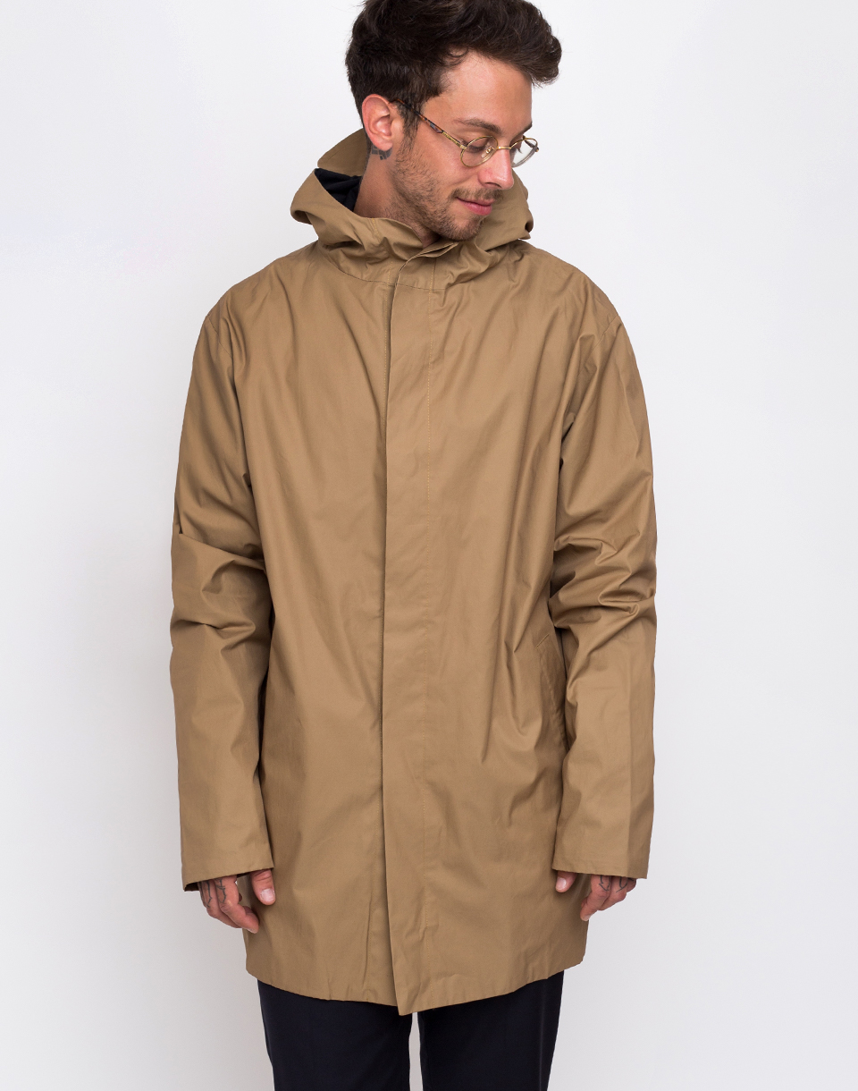 Buffet Pelle Parka Light Camel M