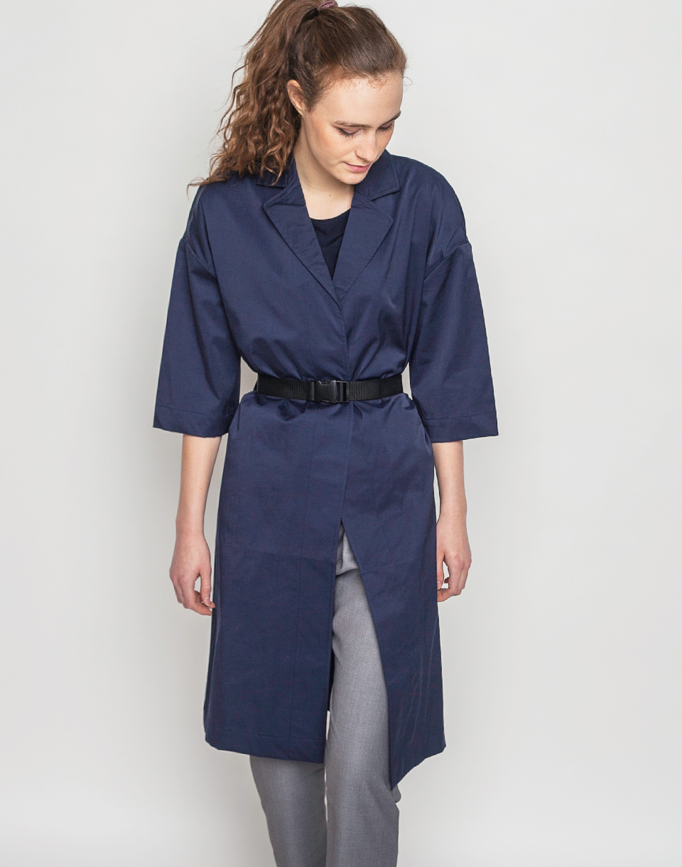 Selfhood Jacket Light Navy S