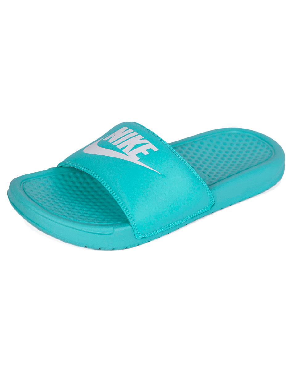 Pantofle Nike Benassi JDI HYPER TURQ/WHITE-HYPER TURQ 39