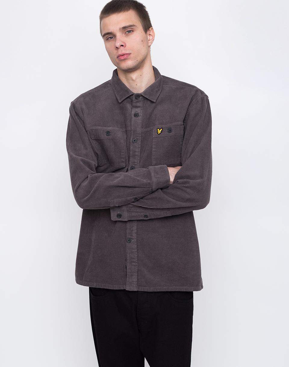 Lyle   Scott Cord Z357 Urban Grey L