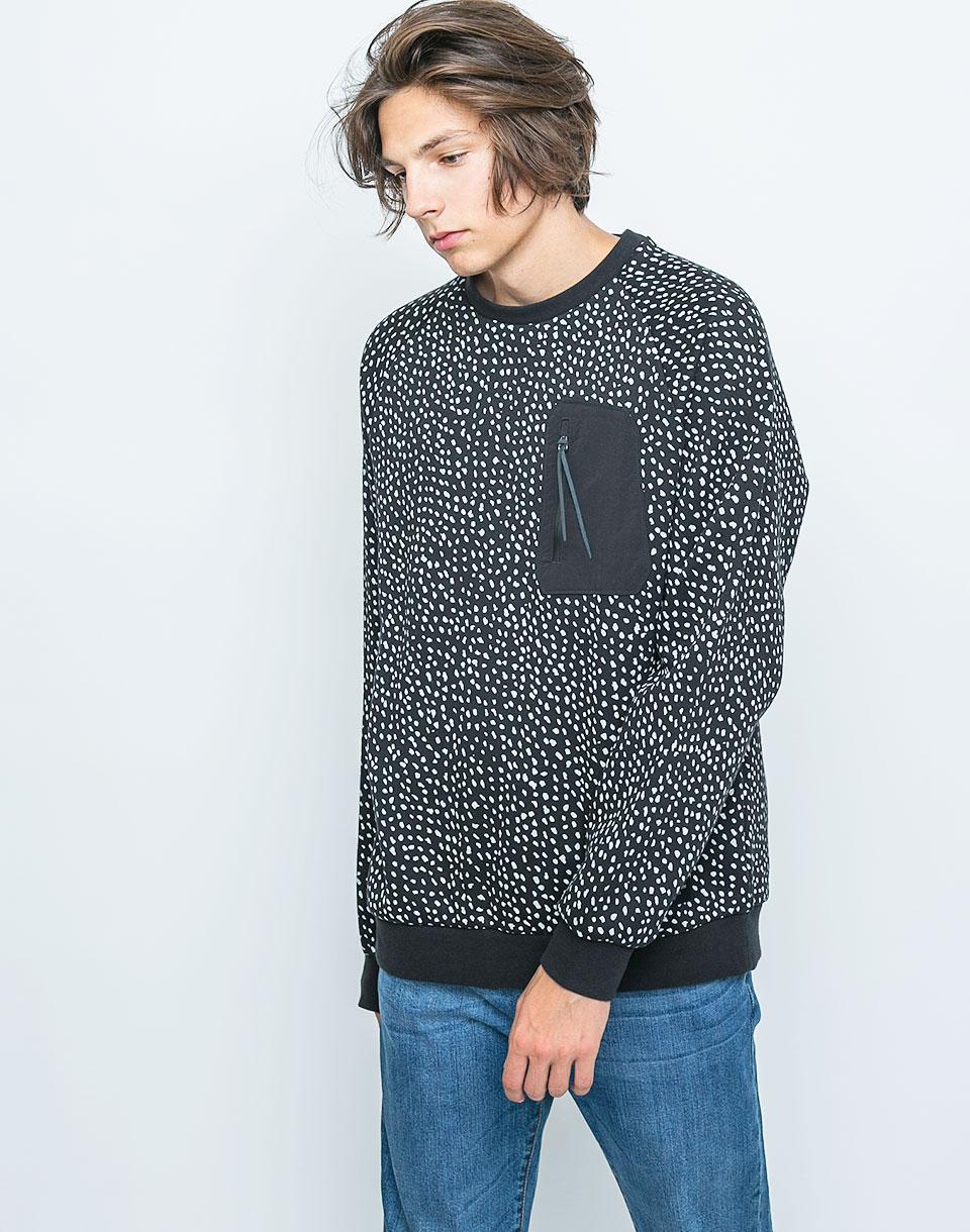 Mikina Adidas Originals NMD LG Crew Black / White L + doprava zdarma + novinka