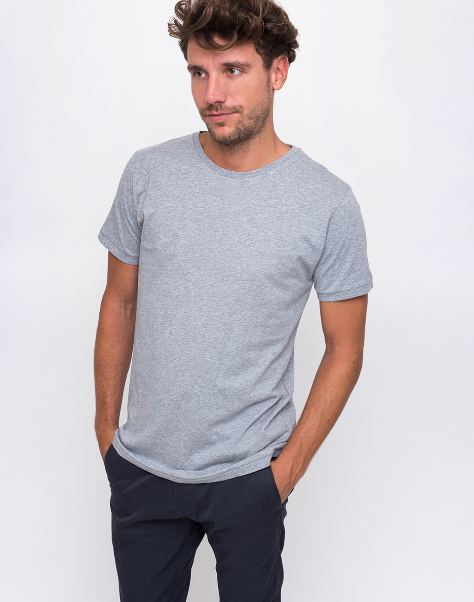 Knowledge Cotton Basic 1012 Grey Melange L