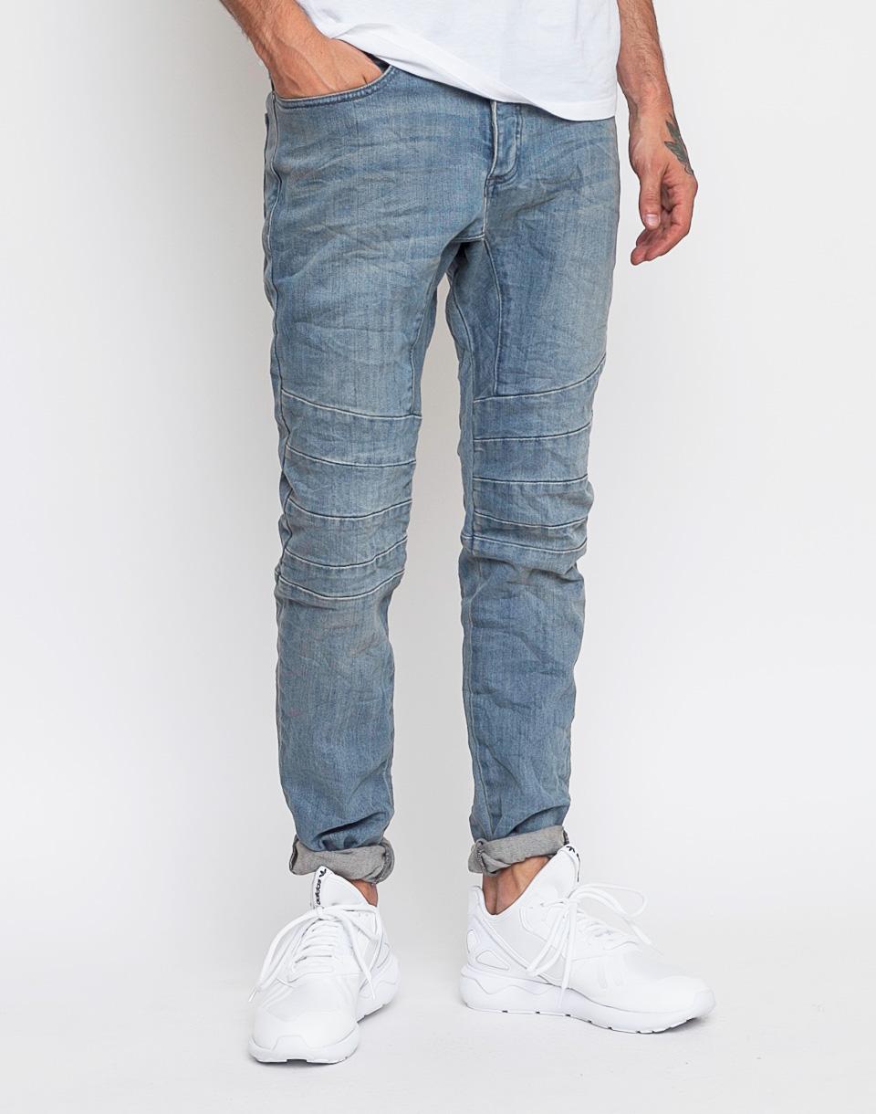 Kalhoty Zanerobe Scrambler Denim Steel 36 + doprava zdarma