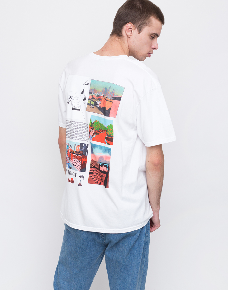 Stussy Imaginary Spaces white M