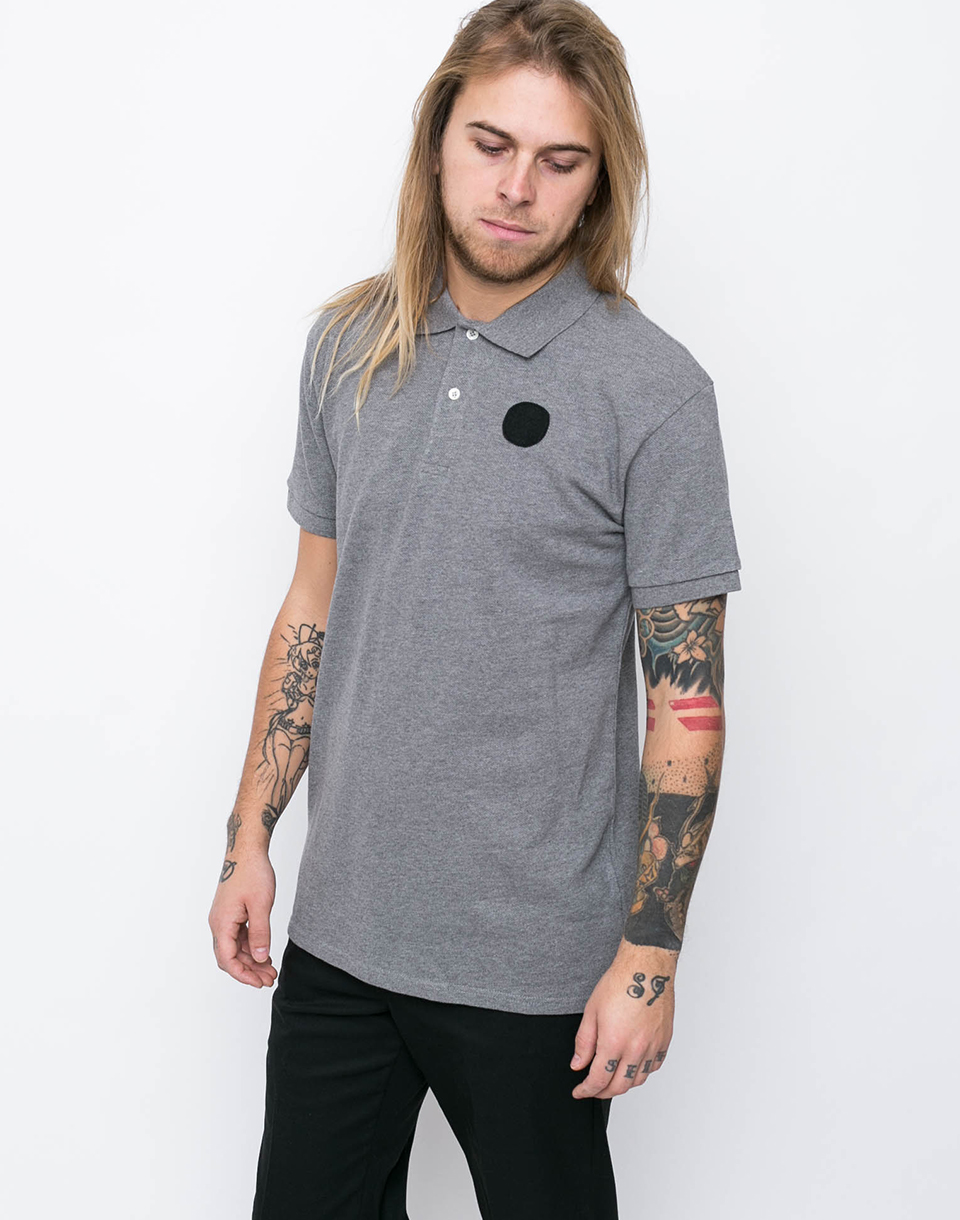 Loreak POLO PUNTO PIQUE Heather Grey S