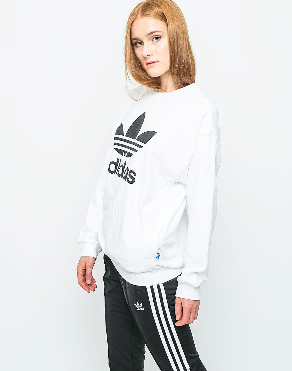 Mikina Adidas Originals Trefoil white 38