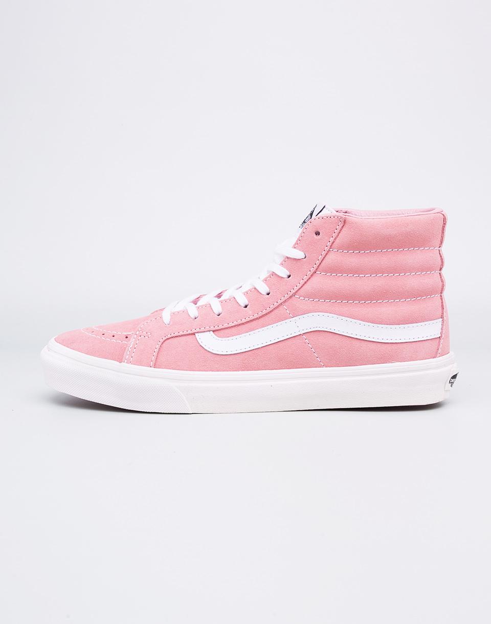 Sneakers - tenisky Vans SK8-Hi Slim Blossom / True White 39 + doprava zdarma