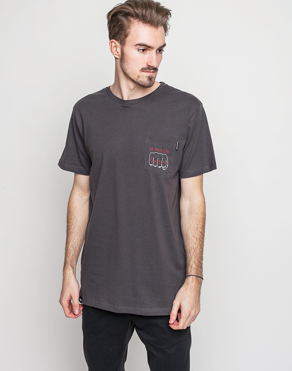 Dedicated Pocket La Vida Low Cash charcoal XL