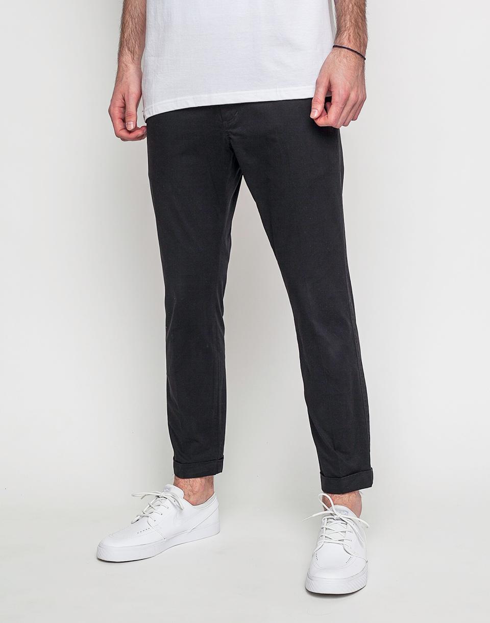 Kalhoty Dr. Denim Diggler Black 31/32