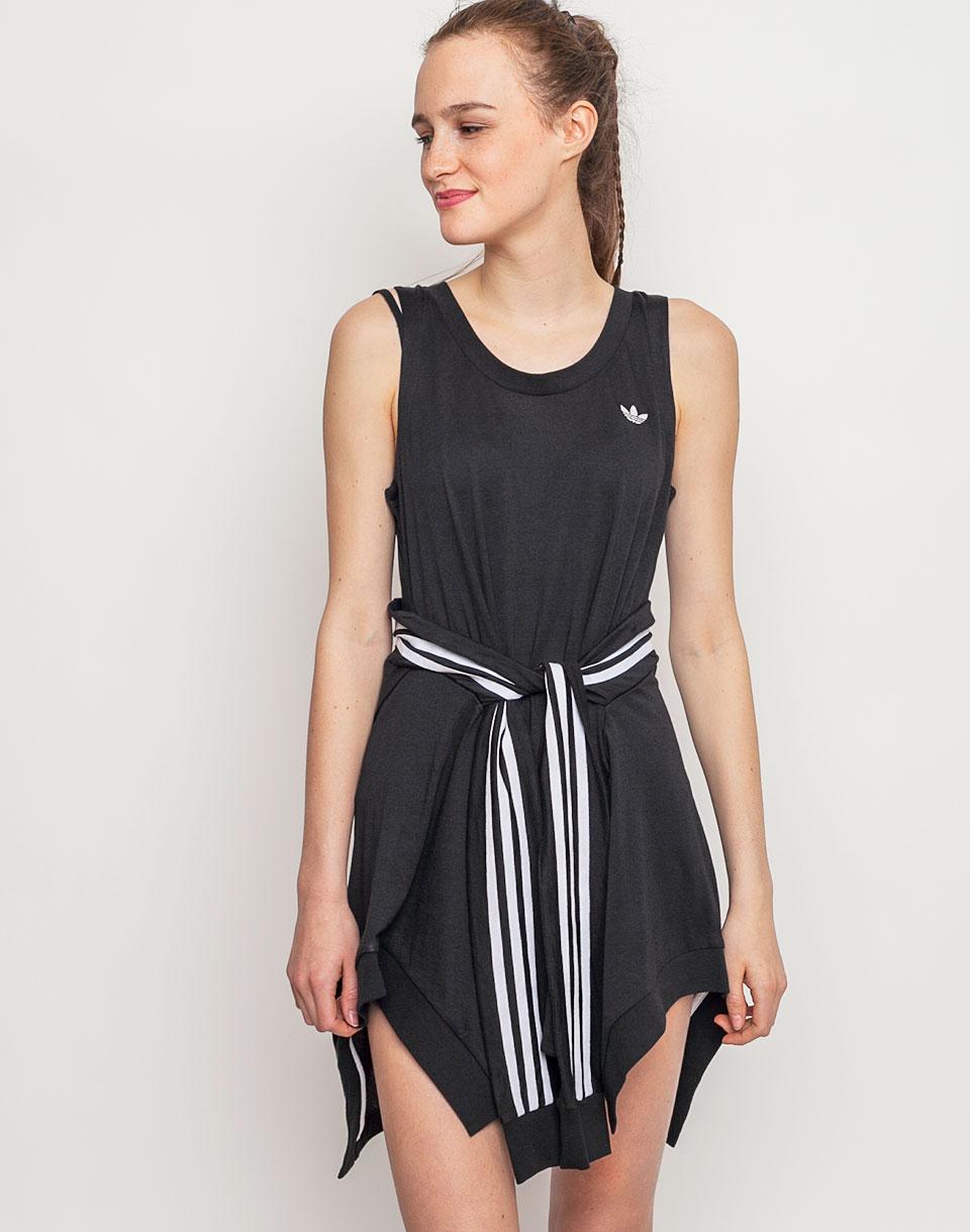 Šaty Adidas Originals Couture Q1 Dres BLACK 38