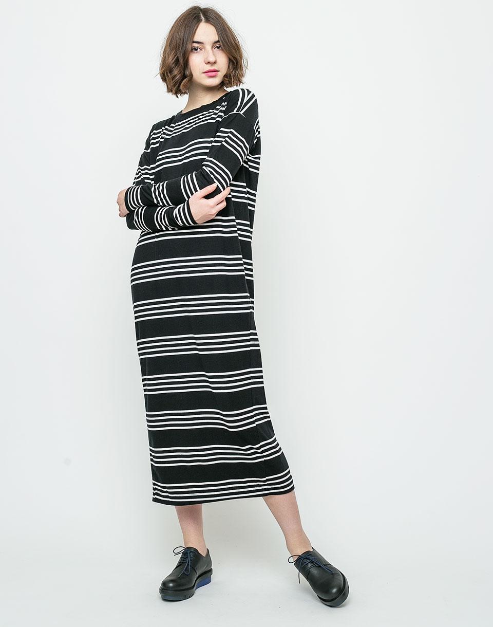 Šaty Dr. Denim Arja Black Dell Stripe M + novinka