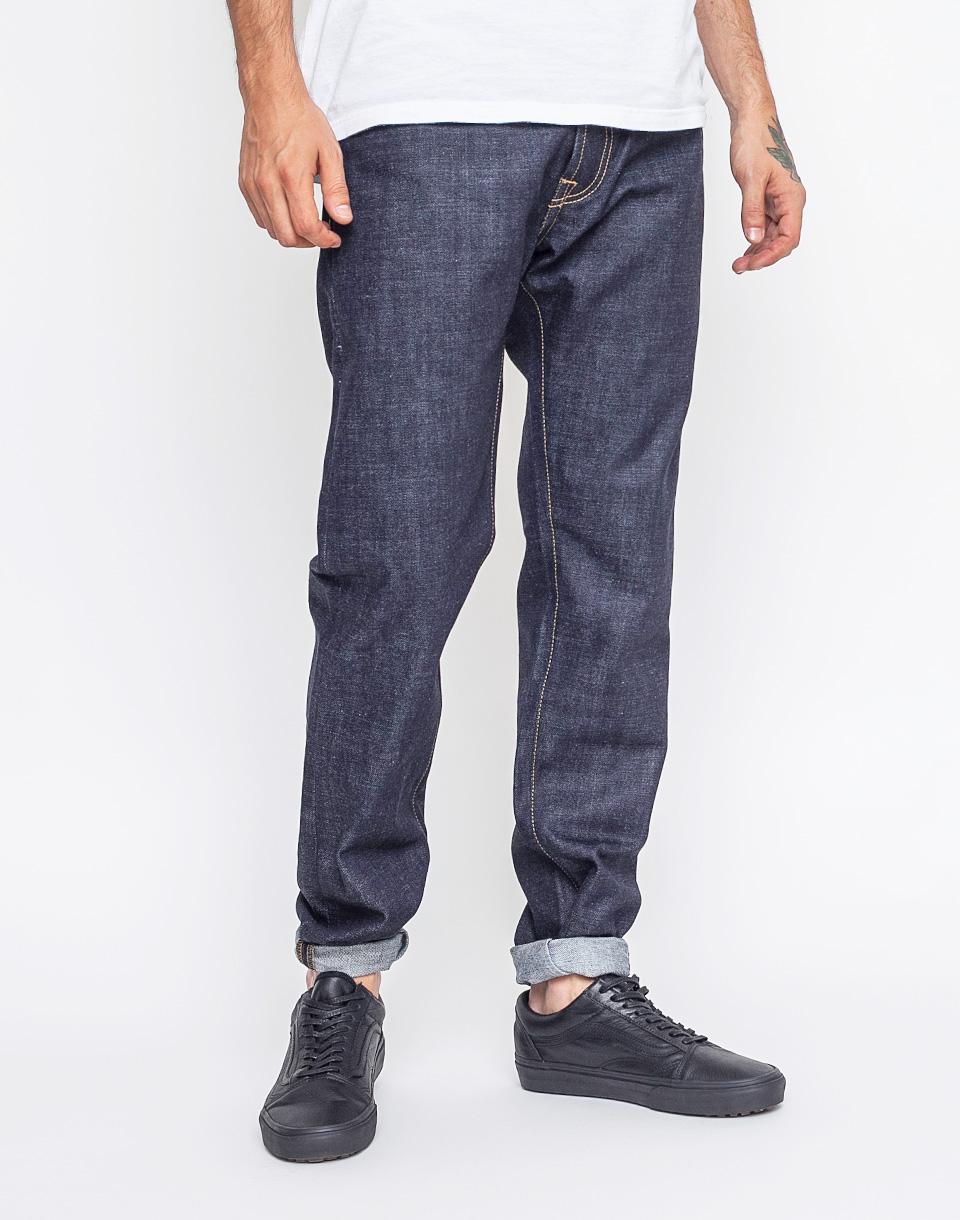 Kalhoty Carhartt WIP Klondike Pant Blue Rigid w32/l32