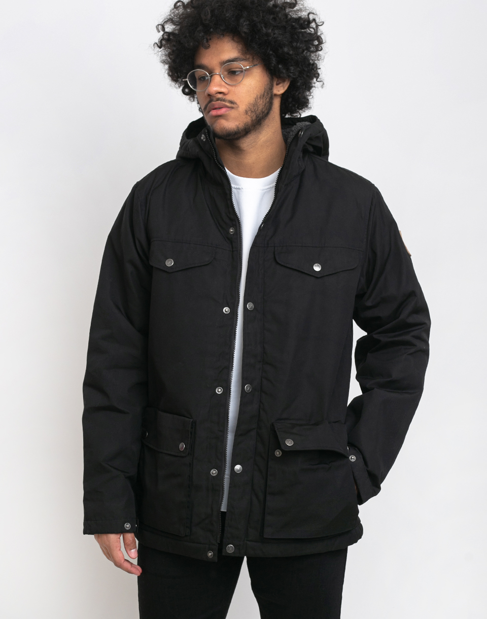 Fjällräven Greenland Winter Jacket 550 Black XL