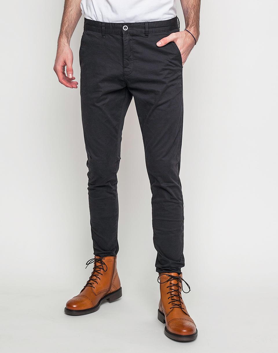 Kalhoty Dr. Denim Heywood Black 31/32