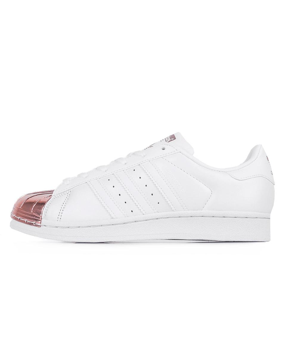 Sneakers - tenisky Adidas Originals Superstar Metal Toe Footwear White / Footwear White / Copper Metallic 41 + doprava zdarma