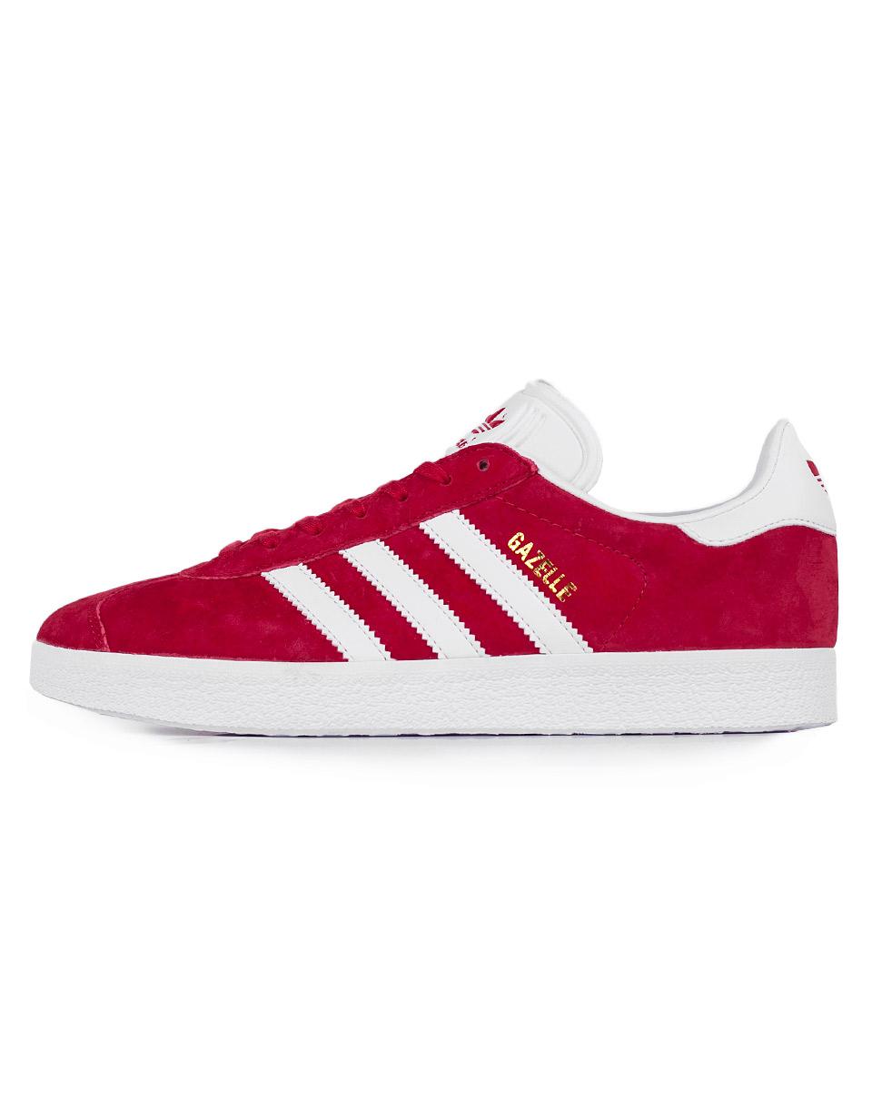 Adidas Originals Gazelle Scarlet / Footwear White / Gold Metallic 44