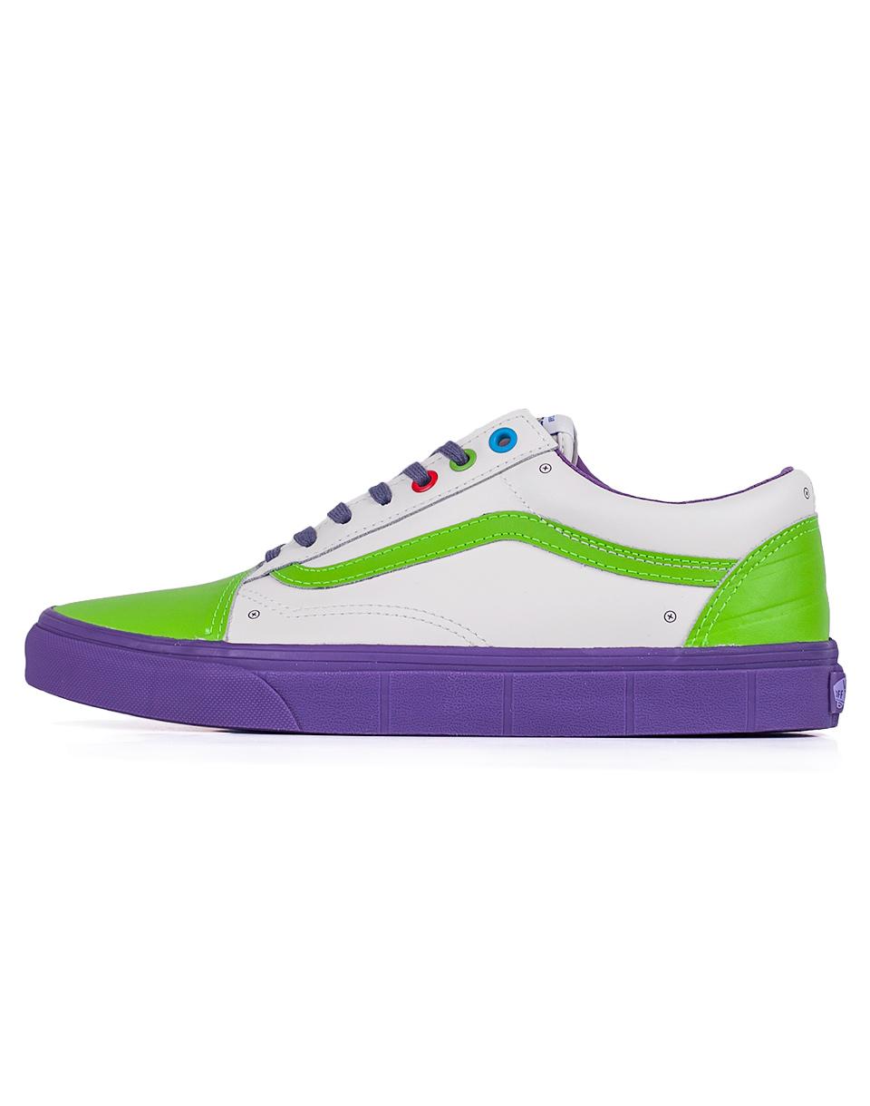 Sneakers - tenisky Vans Old Skool x Toy Story Buzz Lightyear / True White 42 + doprava zdarma + novinka