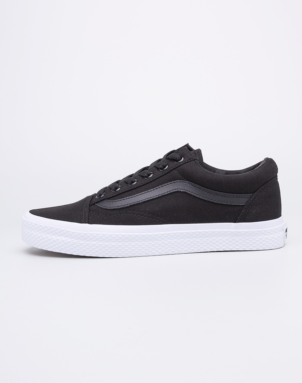 Sneakers - tenisky Vans Old Skool (Classic Tumble) Black / True White 39