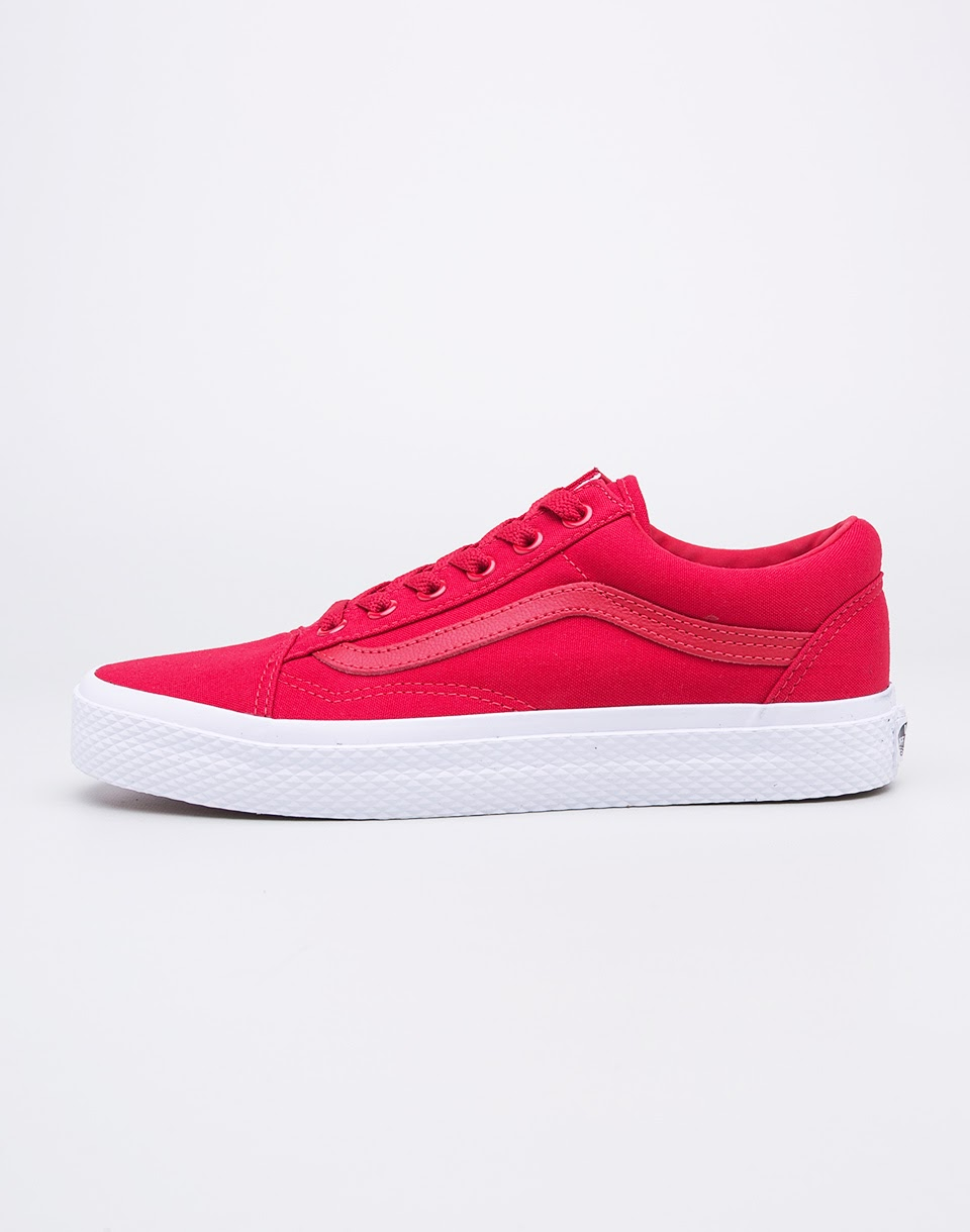 Sneakers - tenisky Vans Old Skool Racing Red/True White 37 + novinka