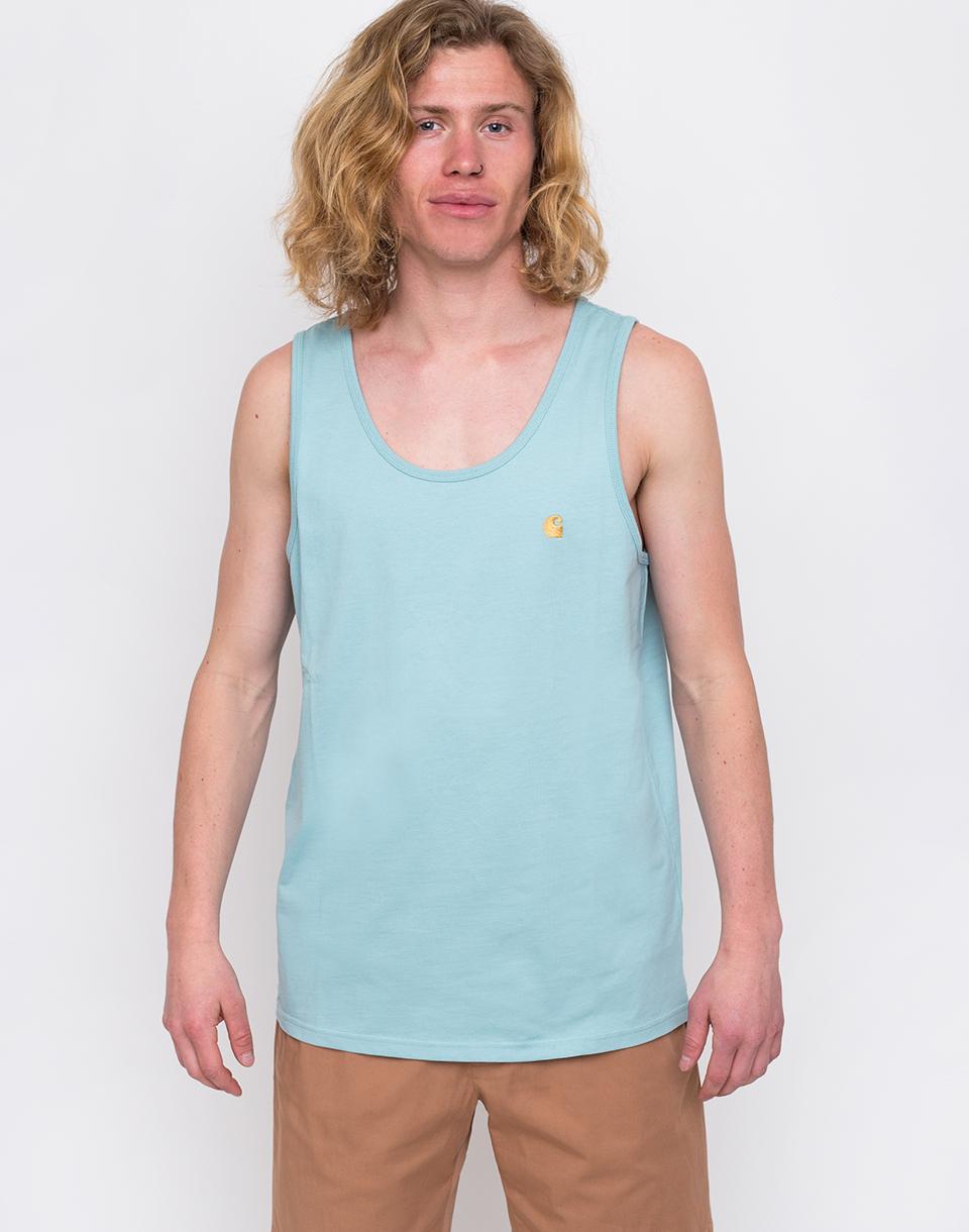 Carhartt WIP Chase A-Shirt Soft Aloe/Gold L
