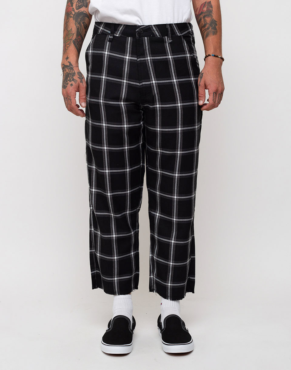 Lazy Oaf Plaid Black 30